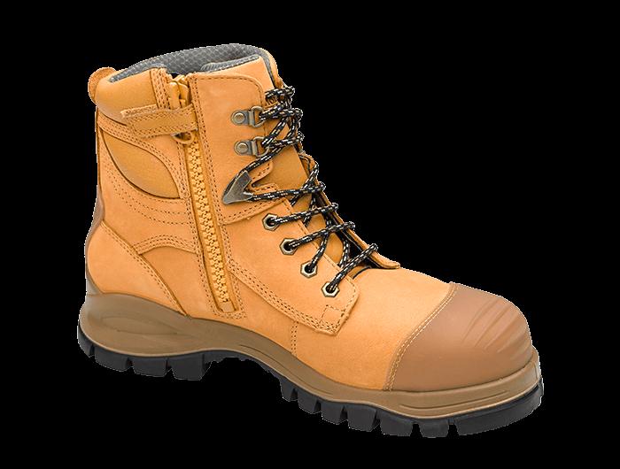 Blundstone Zip Up Series Steel Cap Boots