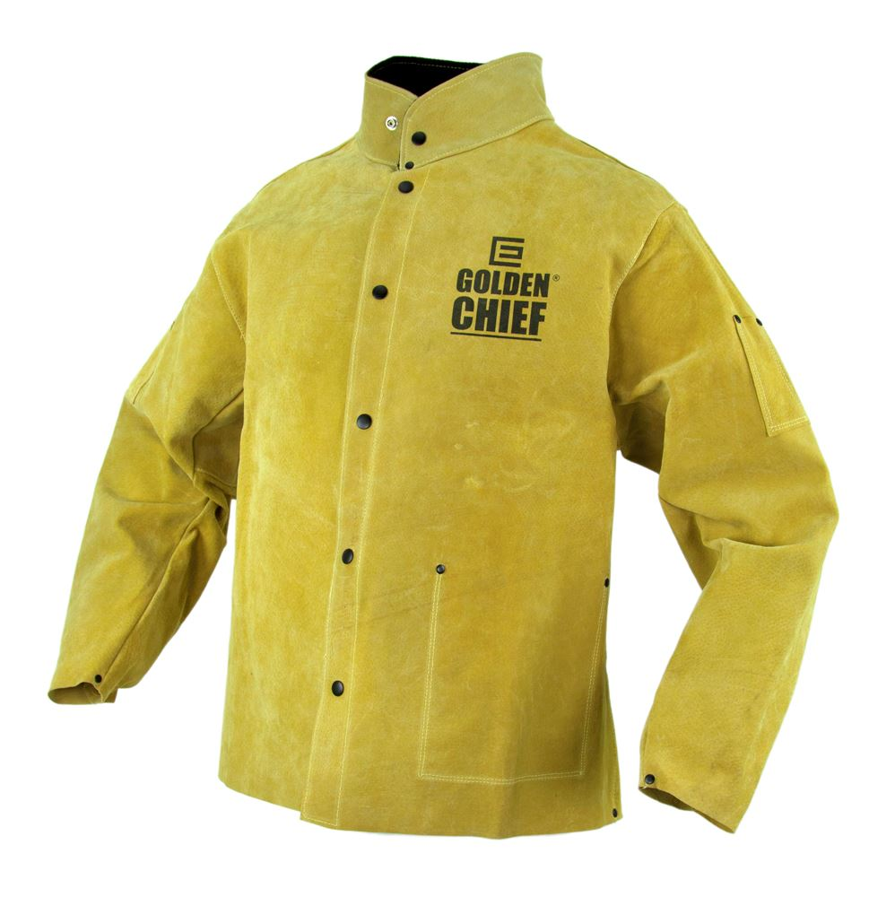 Elliotts Golden Chief Welders Jacket