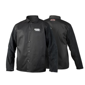 Lincoln Leather Sleeve Welding Jacket