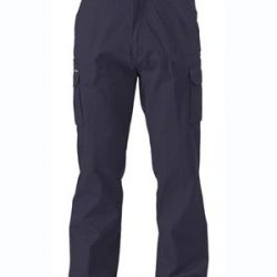 Bisley Navy Cargo Work Pants