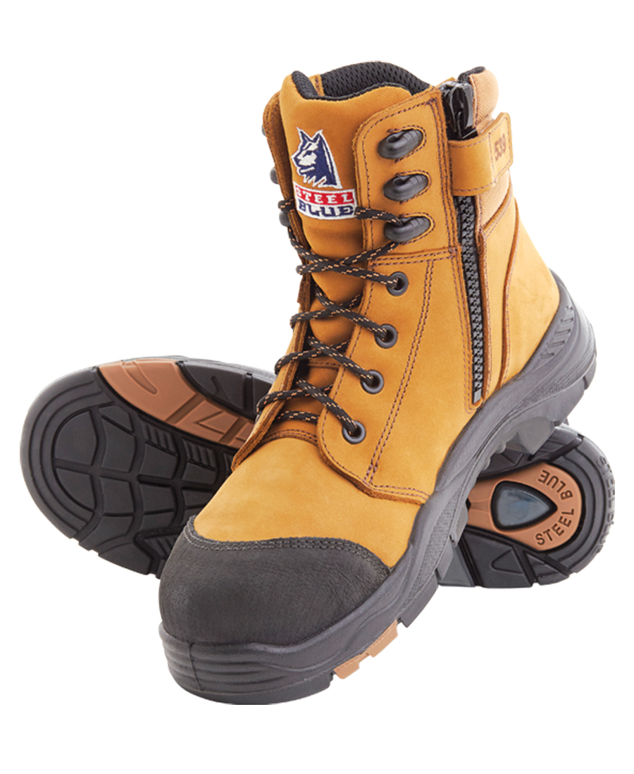 bd35296af8b Steel Blue Torquay, anti static, water resistant boots